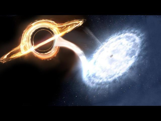 Что если ЧЕРНАЯ и БЕЛАЯ дыры столкнутся