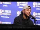 Stephen Curry Postgame Interview February 18 2018 2018 NBA All Star Game