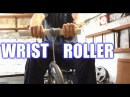 How to Make A Forearm Wrist Roller - Forearm Training