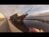рыбалка Санкт Петербург река Нева 2 (fishing St. Petersburg river Neva)