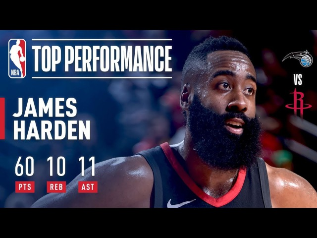 James Harden's 60-Point Triple-Double — First in NBA History