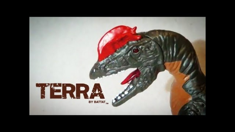 New for 2018, Terra by Battat Electronic Dilophosaurus Figure-In depth review and discussion