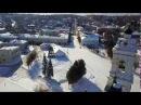 Малые города калужской области Таруса зимой