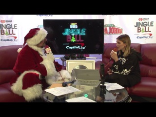 Julia Michaels Wants To Tell A Story In 2018 (Hot 995 Jingle Bal Interview)