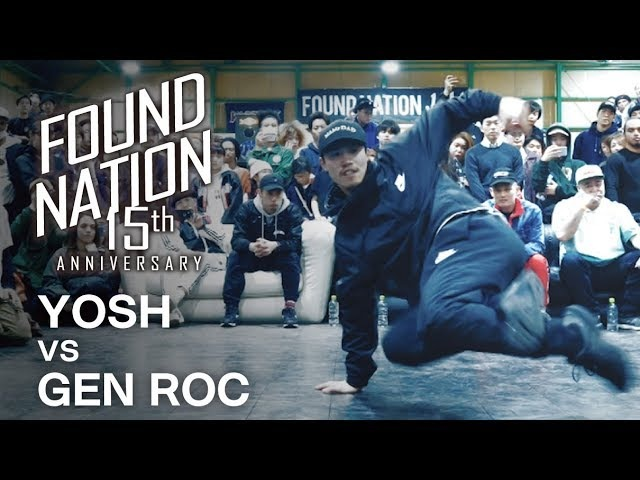 YOSH vs GEN ROC / Final Battle - FNJAM2018 x BIS【FLAVA JAPAN】