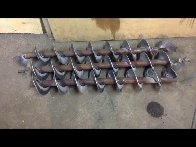 Как изготовить шнеки в условиях гаража rfr bpujnjdbnm iytrb d eckjdbz[ ufhf;f