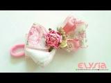 Baby Headband Ideas Shabby Ribbon Headband DIY by Elysia Handmade