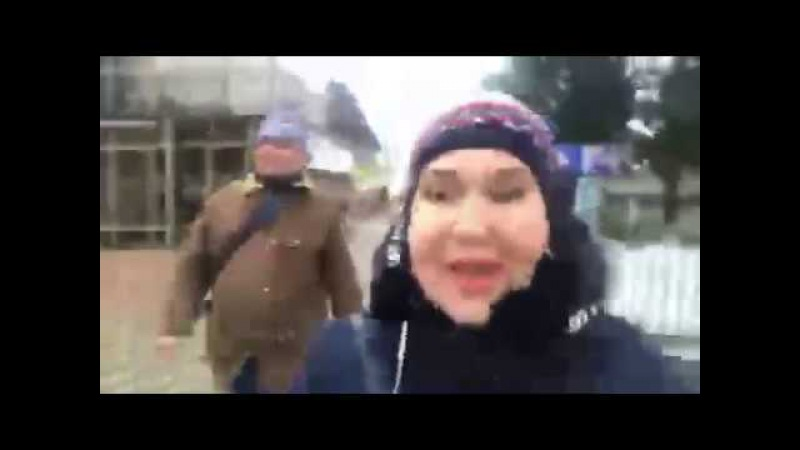 Татьяна Африкантова в перископе на крещение 19 01 2018