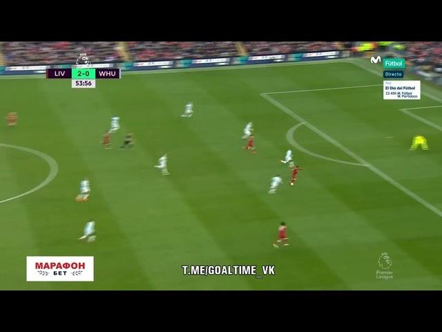 Ливерпуль - Вест Хэм. Обзор матча. Англия. Премьер-лига 201718. 28 тур.