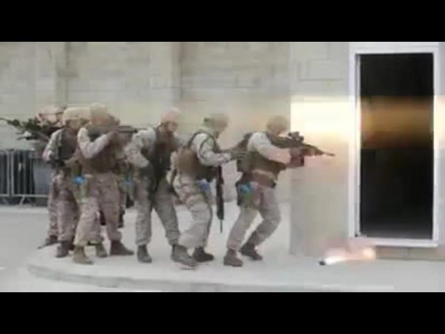 Smoke bomb gaffe on marine training exercise