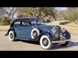 Rolls Royce Phantom III Sports Saloon by Park Ward '1937