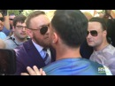 Conor McGregor, Paulie Malignaggi Have Heated Confrontation - MMA Fighting