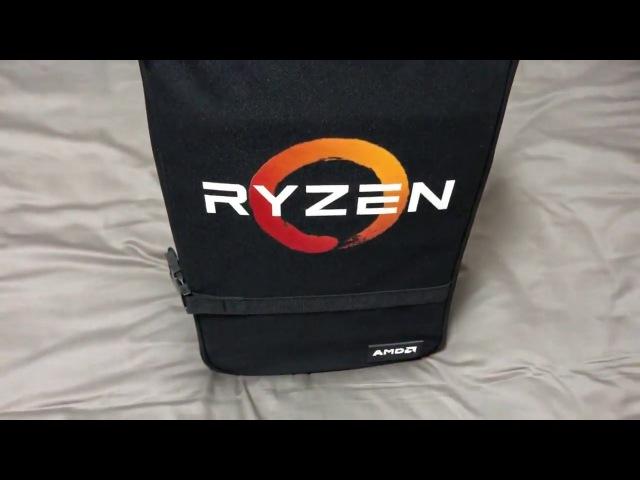DAN Case on Ryzen Bag