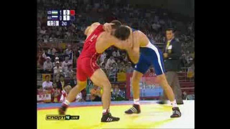 Бувайсар Сайтиев Пекин 2008 Финал