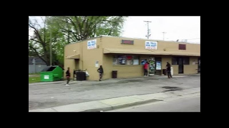 Колумбия, Южная Каролина, США - как живут американцы, американское гетто, нищие в США, бездомные бомжи Америка
