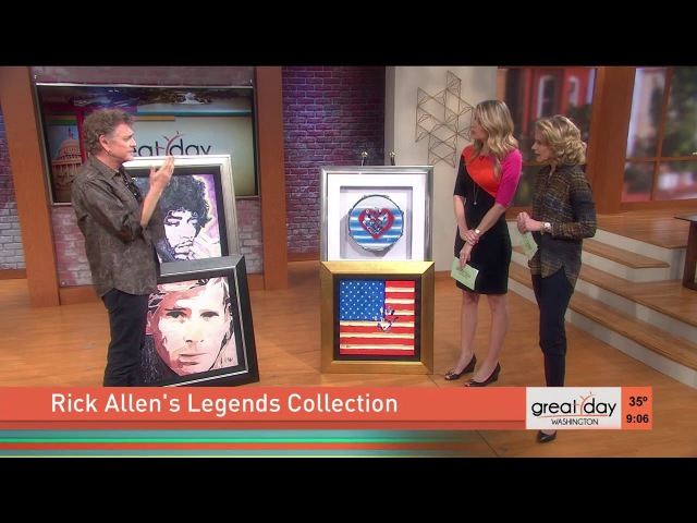 Def Leppard's Rick Allen uses his artistic talents to help veterans
