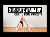 5-Minute Warm Up for At-Home Workouts