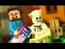 САМАЯ БОЛЬШАЯ ДЕРЕВНЯ в Майнкрафте ЛЕГО НУБик Мультики LEGO Minecraft - Видео Мультфил ...