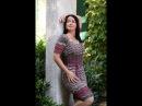 Ажурное платье спицами Малина в шоколаде Экспресс Мк