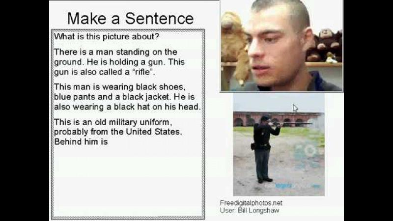 Learn English Make a Sentence and Pronunciation Lesson 4: Gunshot