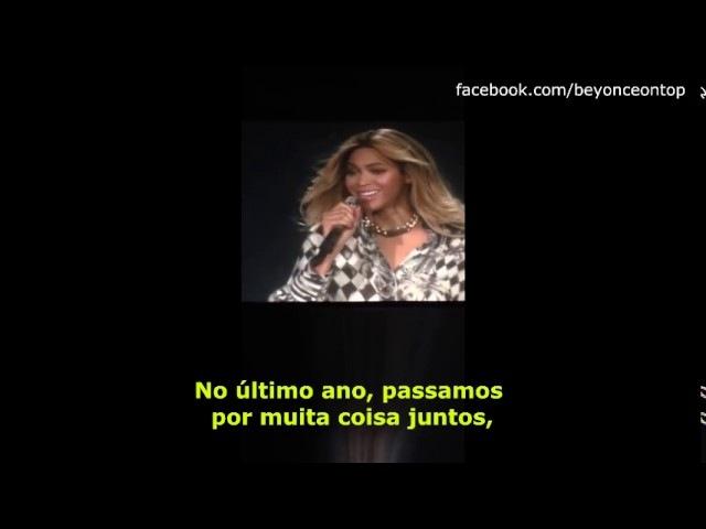 Beyoncé - Quando eu caio, vocês me levantam TheMrsCarterFinal