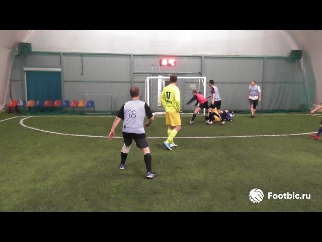 FOOTBIC.RU. Видеообзор 13.03.2017 (Метро Технопарк). Любительский футбол