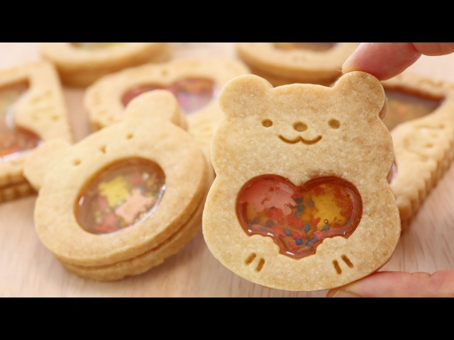 Sweet Sound Stained Glass Cookies