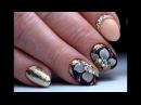 Крутой дизайн ногтей на коротких ногтях Цветок ТОП удивителные дизайны ногтей
