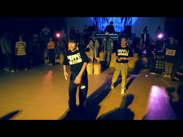 KYOKAHURRIKANE なつみFAT SNAKE 10~14 POP SDCJ 2017 Street Dance Camp Japan | Danceproject.info