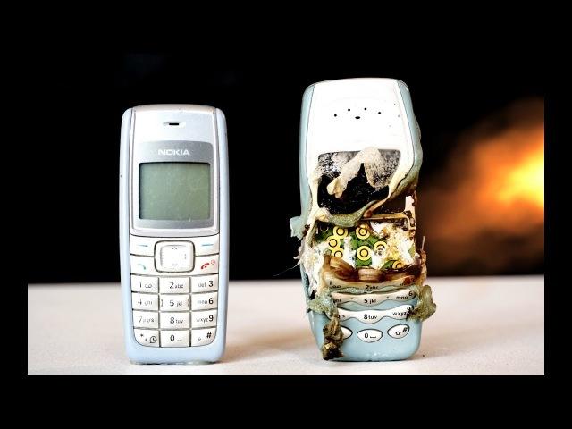 Woow! EXPERIMENT 600 degrege vs PHONE