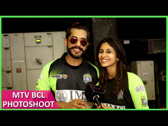 Team Mumbai Tigers | MTV BCL Photoshoot | Kishwar Merchant, Suyyash Rai, Arjun Bijlani Balraj Syal