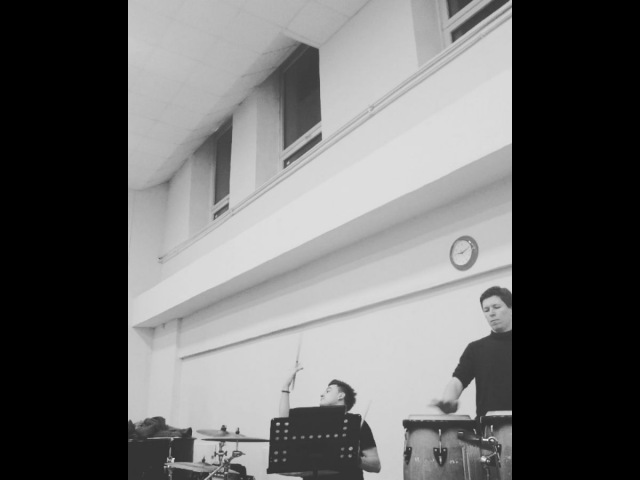 "Stanislav Prizh on Instagram: ""Плотный disco-замес💪💣😎 drums - @alexeyivchikov conga drums - @sprizh _ groove drums conga disco rythm music..."