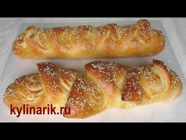 Французский багет рецепт в духовке. Тесто для багета. Французский хлеб рецепт от kylinarik.ru