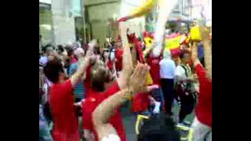 Cánticos Euro 2008. Yo soy español, español, español