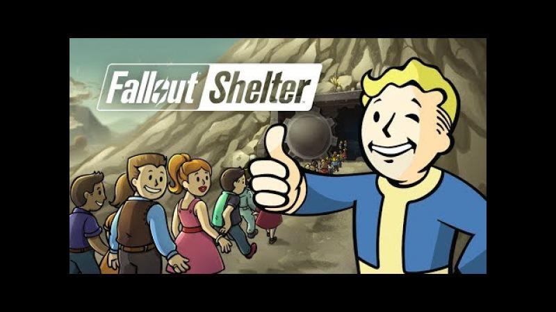 Fallout shelter Феллаут шелтер 2 Три убежища 3 разных судьбы выживание в мире постапок