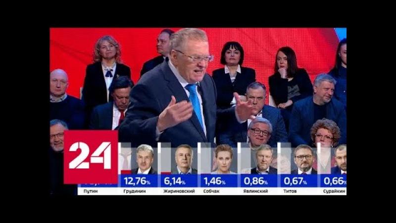 Жириновский: это были последние выборы президента Выборы-2018