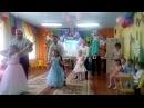 Очень трогательный танец с папами на выпускной в детском садике Колокольчик.