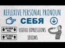 Intermediate Russian II: Reflexive Personal Pronoun СЕБЯ (oneself)
