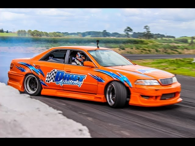 Going for a ride in a JZX100 Mark II Drift Taxi!
