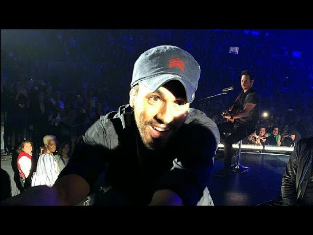 Enrique Iglesias Awesome Show in Corpus Christi, TX AmericanBankCenter