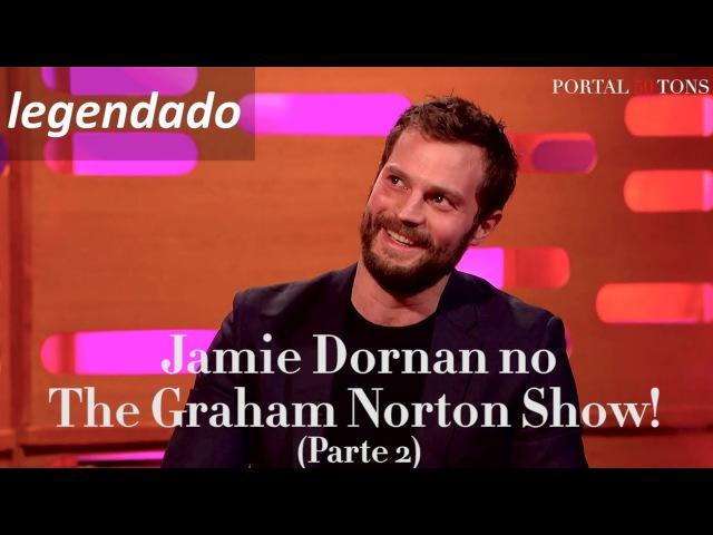 LEGENDADO: Jamie Dornan conta como colou uma peruca em sua parte íntima | The Graham Norton Show