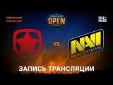 Gambit vs Na'Vi - Dreamhack Winter 2017 - de_inferno yXo, Enkanis