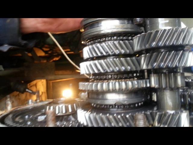 Разборка и ремонт пятой передачи на ваз 2109 часть-3