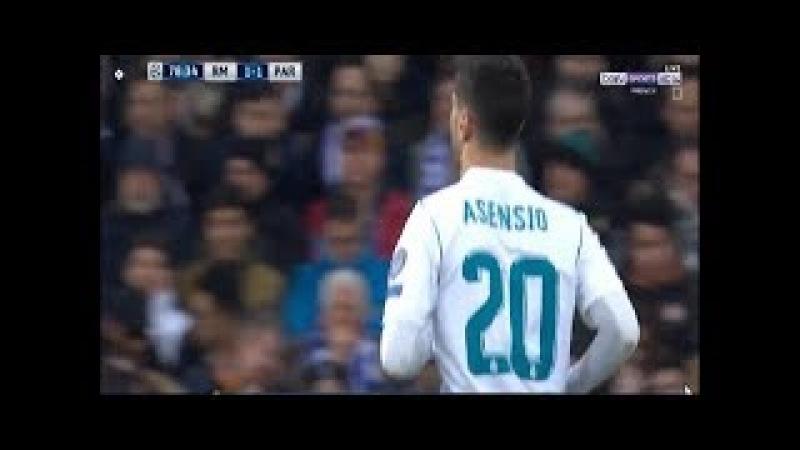 Marco Asensio vs PSG Home (14/02/2018) 1080i