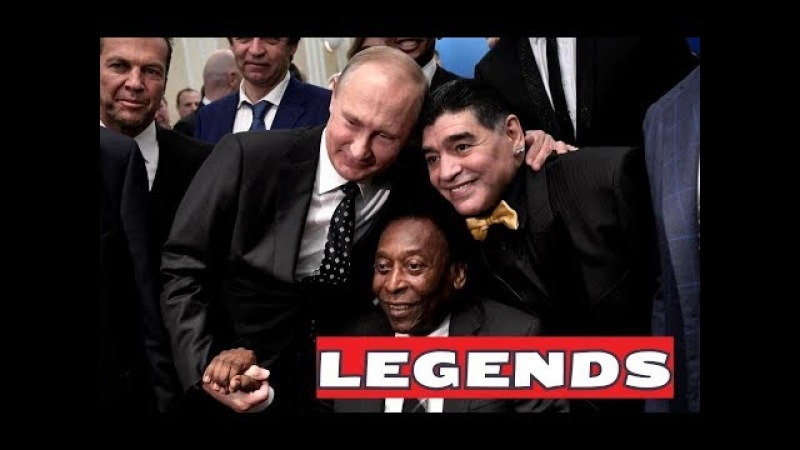 Putin rubs shoulders with Maradona and Pele at star-studded World Cup draw in Moscow