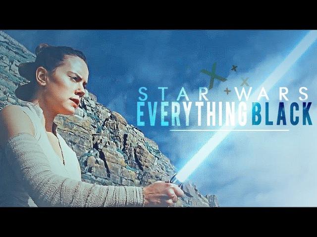 Star wars   everything black