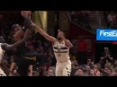 LeBron James With the Big Dunk Bucks vs Cavaliers March 19, 2018 2017 18 NBA Season
