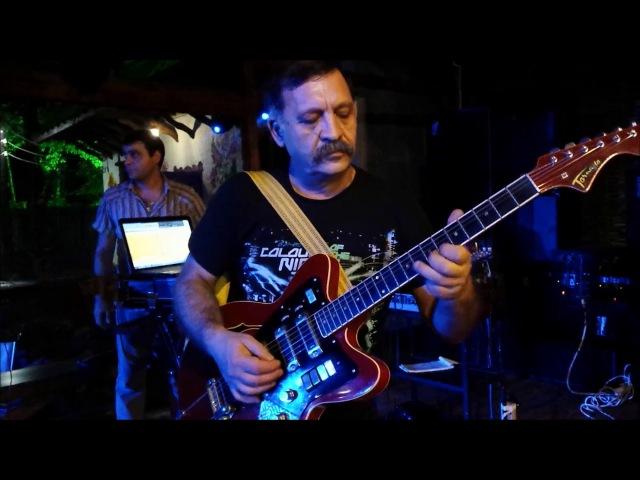ROSTOM POGOSYAN СОЛО ГИТАРИСТ ( SOLO GUITAR ) Strangers - VANADZOR SOCHI ADLER КАФЕ ХУТОРОК
