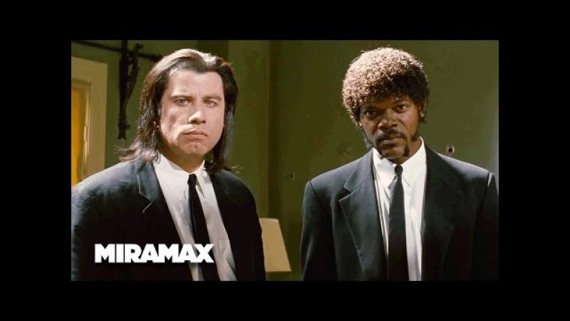 Pulp Fiction 'A Miracle' HD John Travolta Samuel L Jackson MIRAMAX