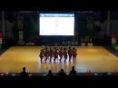 Charm (RU) - first round - World Championship Formations Ladies Dabas 2017